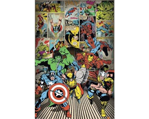 Deko Panel Marvel Heroes 60x90 cm
