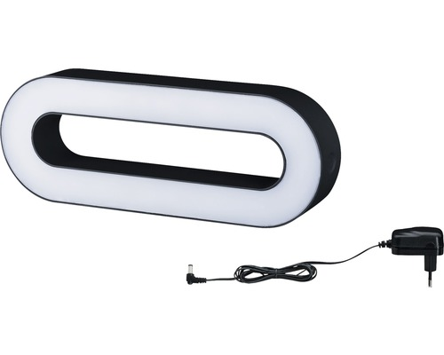 Mobile LED Außenleuchte IP44 3,5W 310 lm 3000 K warmweiß anthrazit B 350 mm