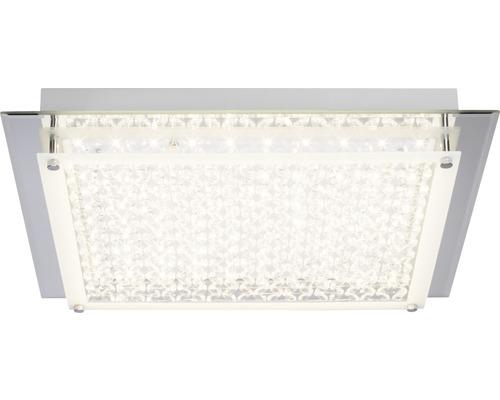 LED Deckenleuchte 1x20W 2000 lm 3000 K warmweiß 420x420 mm Larina chrom