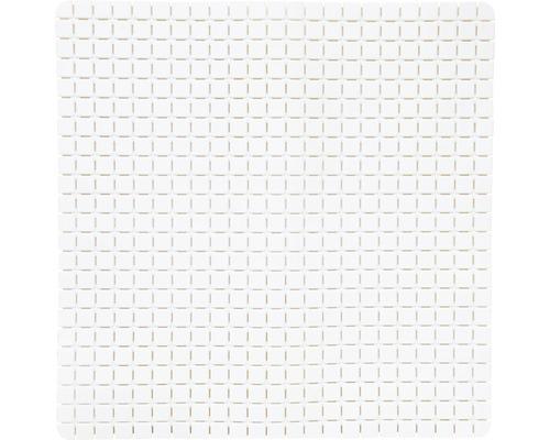 Duscheinlage Quadro Premium 54 x 54 cm weiß mit Rosenduft