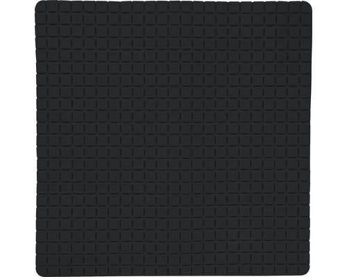Duscheinlage Quadro Premium 54 x 54 cm schwarz mit Rosenduft
