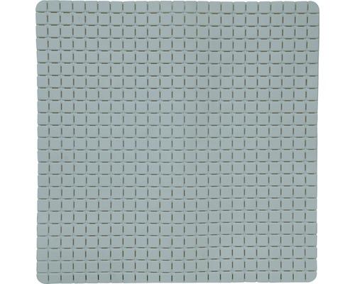 Duscheinlage Quadro Premium 54 x 54 cm grau mit Rosenduft