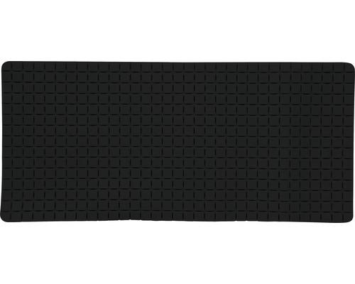 Wanneneinlage Quadro Premium 36 x 76 cm schwarz mit Rosenduft