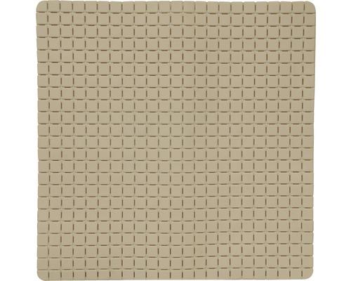 Duscheinlage Quadro Premium 54 x 54 cm beige mit Rosenduft