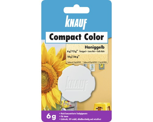 Knauf Compact Color Honiggelb 6 g