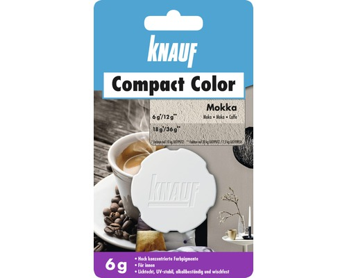 Knauf Compact Color Mokka 6 g