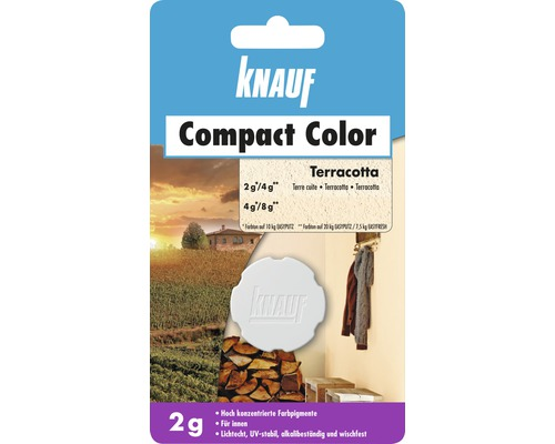 Knauf Compact Color Terracotta 2 g