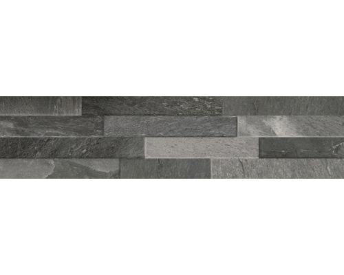Feinsteinzeug Verblender Canyon Black 15 x 61 cm
