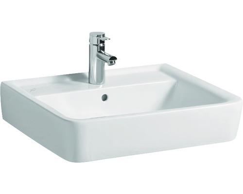 Keramag / GEBERIT Aufsatzwaschbecken Renova Plan 65 cm weiß mit Keratec Glasur 225165600