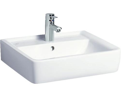 Keramag / GEBERIT Aufsatzwaschbecken Renova Plan 55 cm weiß mit Keratec Glasur 225155600
