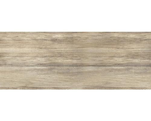 Glas-Memoboard Wood Magnettafel beschriftbar braun 30x80 cm