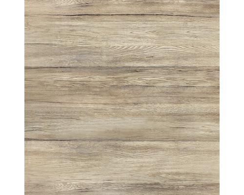 Glas-Memoboard Wood Magnettafel beschriftbar braun 50x50 cm