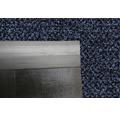 Schmutzfangläufer graphit blau 200 cm breit (Meterware)