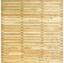 Zaunelement Rhombus Lärche 180x180 cm, natur