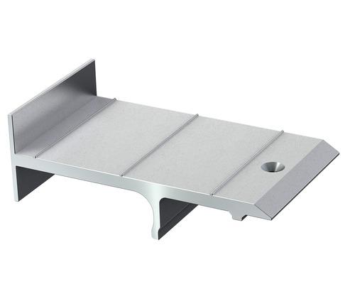 Terrassenlager Befestigungsaufsatz S-Fix-H Set = 10 Stück inkl. Bohrschrauben für UK Isostep-H