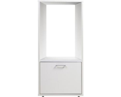 Waschturm Waschmaschinenschrank WSCS146, Höhe 146 cm weiß