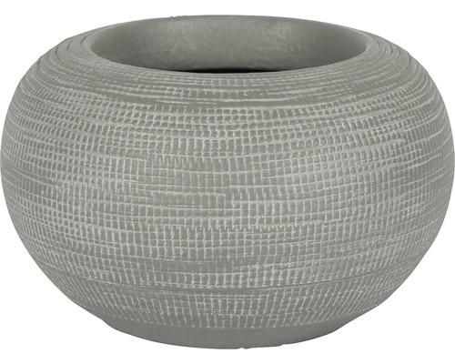 Blumentopf Le Havre Keramik Ø 19 H 13 cm grau
