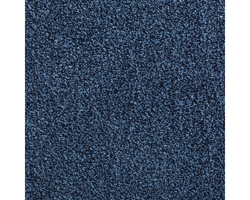 Teppichboden Velours Grace Farbe 82 blau 400 cm breit (Meterware)