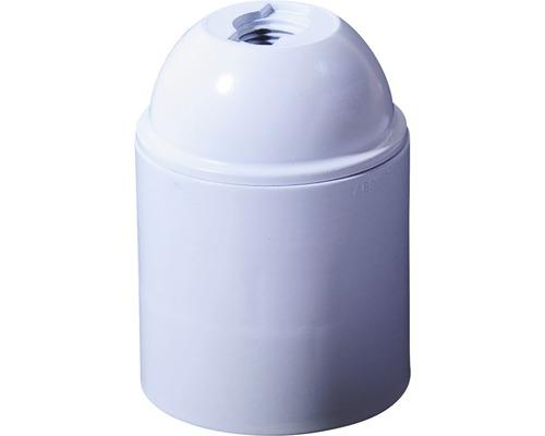 Lampenfassung E27 Kunststoff weiß