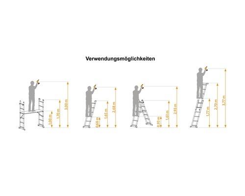 Kleingerüst ALPE mit Leiternfunktion