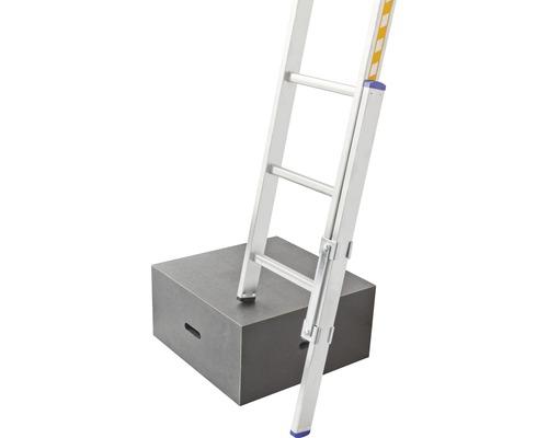 Fußverlängerung Hymer für Sprossenleitern mit Holmgröße 66mm