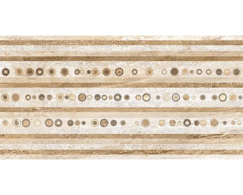 Steingut Dekorfliese Daino 34 x 67 cm