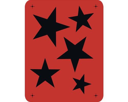 Wandschablone Sterne 43 x 56 cm