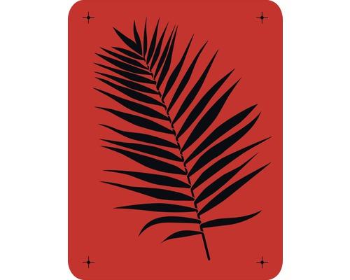 Wandschablone Palmzweig