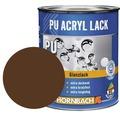 Buntlack PU Acryllack glänzend RAL 8011 nußbraun 750 ml