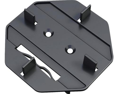 Terrassenlager Befestigungsaufsatz M-Fix-H Set = 100 Stück inkl. Pad und Bohrschrauben für UK Isostep-H