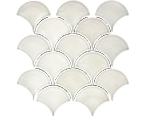 Keramikmosaik FS 03C 25,6x27,3 cm grau