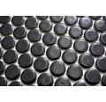 Keramikmosaik Knopf 890 32,2x30,5 cm schwarz