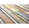 Natursteinmosaik MOS SL 69 30,5x30 cm braun