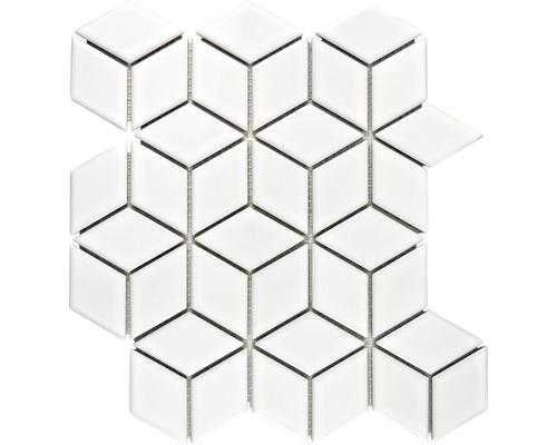 Keramikmosaik POV 02 26,6x30,5 cm weiß