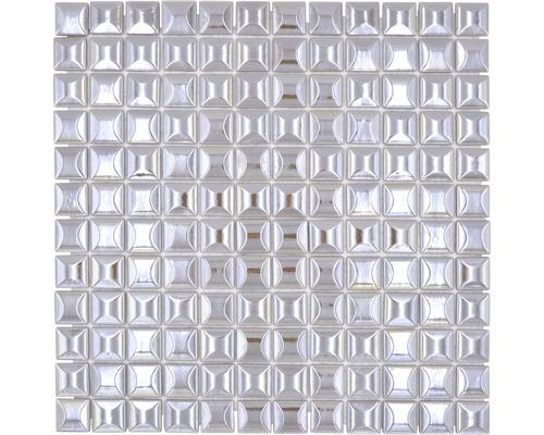 Glasmosaik Sandy 24 31,5x31,5 cm beige