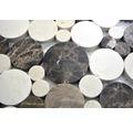 Natursteinmosaik MOS PR 13/476 30,5x30,5 cm beige/braun