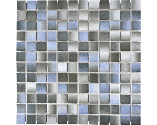 Keramikmosaik CG GSC 3 30x30 cm grau blau