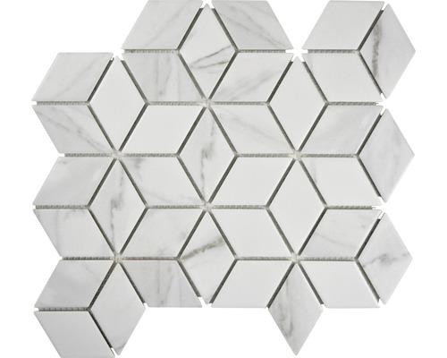Keramikmosaik CIM POV CR 26,6x29,5 cm weiß