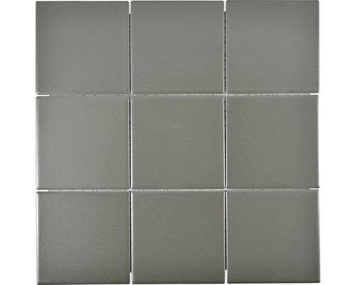 Keramikmosaik CQ 115 30x30 cm grau matt