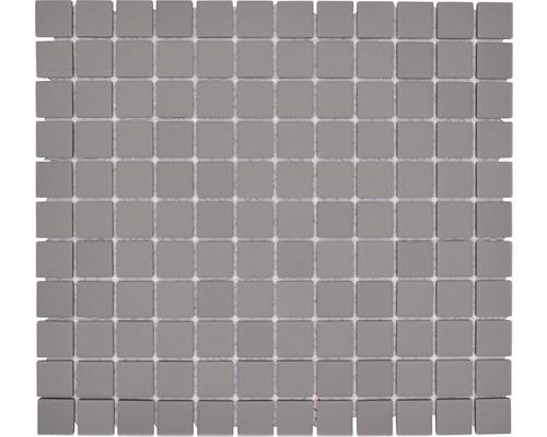 Keramikmosaik CU 000 32,7x30,2 cm grau