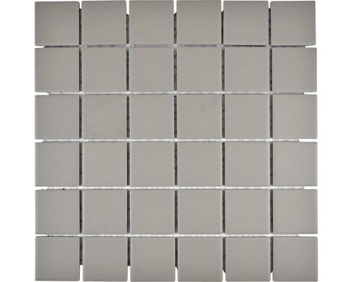 Keramikmosaik CU 203 29,1x29,1 cm grau
