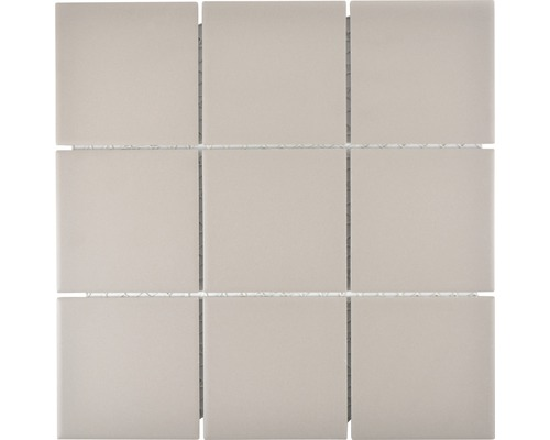 Keramikmosaik CU 902 29,25x29,25 cm grau