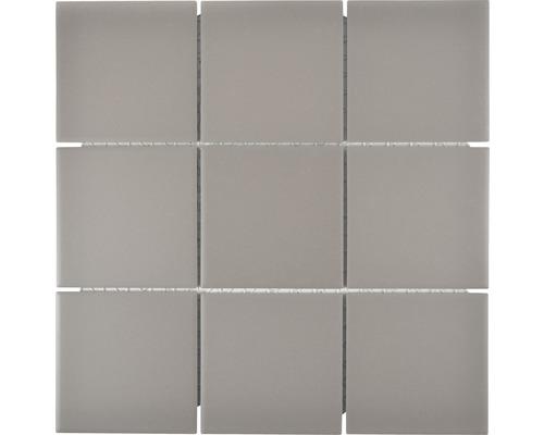 Keramikmosaik CU 932 29,25x29,25 cm grau
