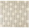Keramikmosaik CU G80 32,7x30,2 cm mix beige