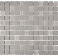 Keramikmosaik CU G90 32,7x30,2 cm mix grau
