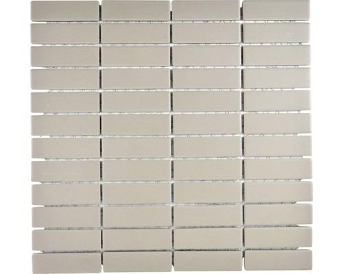 Keramikmosaik CU ST 001 28,65x29,5 cm grau