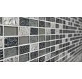 Glasmosaik XCM CRS2 30x30 cm mix Retro silber