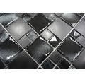 Glasmosaik XCM MC709 30x30 cm schwarz
