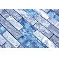 Natursteinmosaik XCM MV688 30x29 cm grau/blau