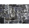 Glasmosaik XIC HB1528 26,3x29,3 cm schwarz